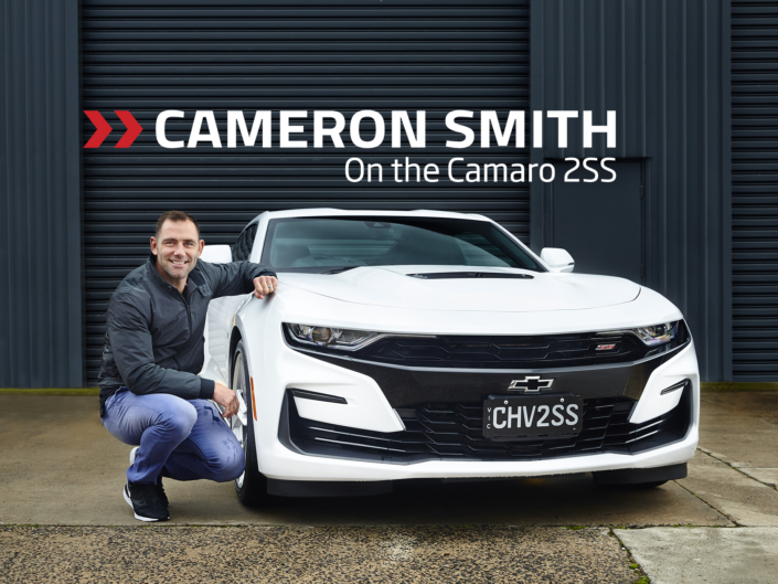 Cameron Smith HSV Camaro 2SS
